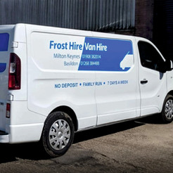 Frost van hire