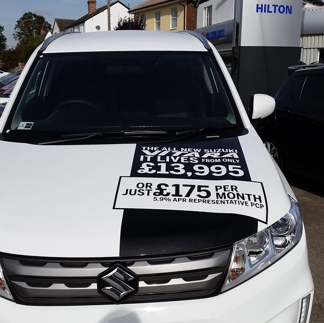 Suzuki Vitara car signsjpg