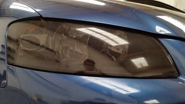 After Fly Eye applied to headlight