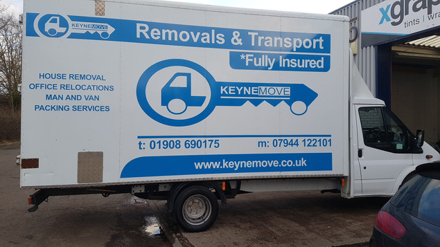 Removals and Transport luton van