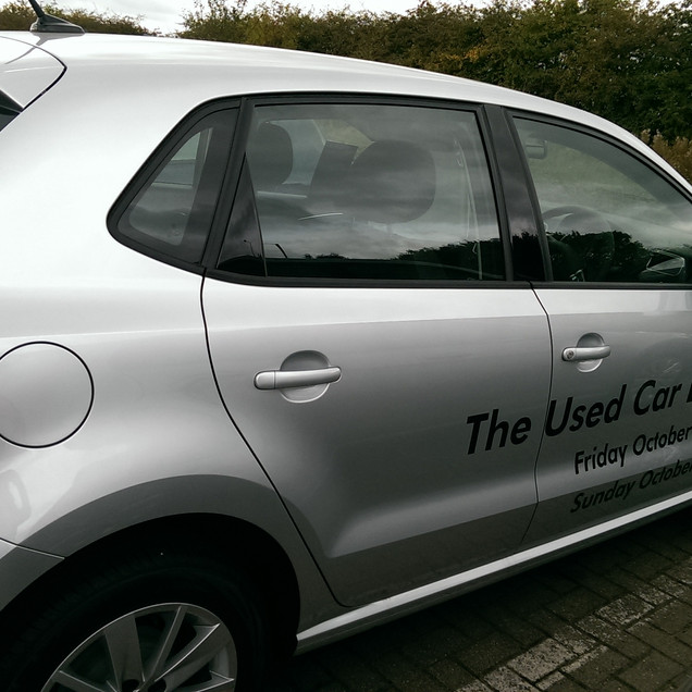 The used car event