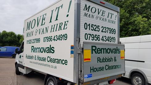 Move It! man and van hire luton van