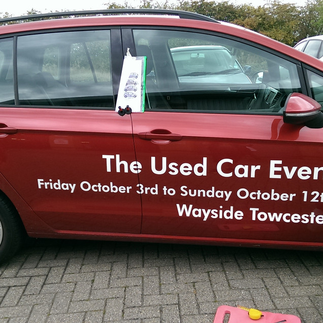 The used car event towcester