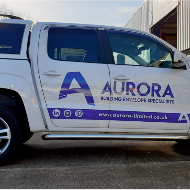 VW Amarok Truck signs X Graphics Milton