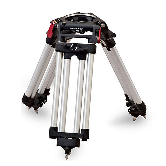 O'CONNOR CINE HD BABY TRIPOD W FLOOR SPREADER