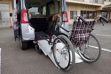 Welfare vehicles and wheelchair.jpg