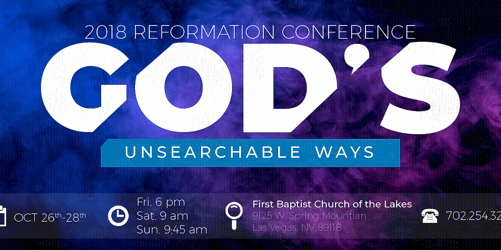 Reformation Conference 2018