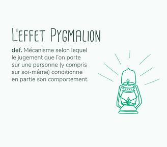 effet pygmalion education