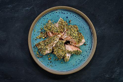 Pistachio & Herb Crusted Salmon