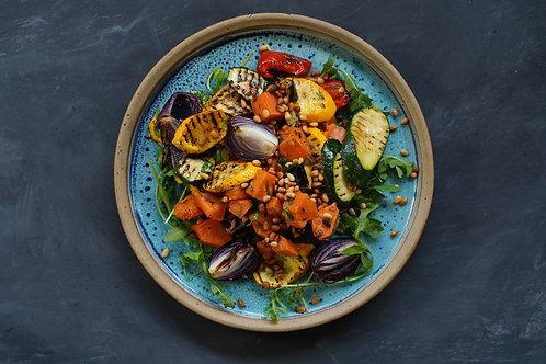 The Rainbow Salad of Roasted Veggies