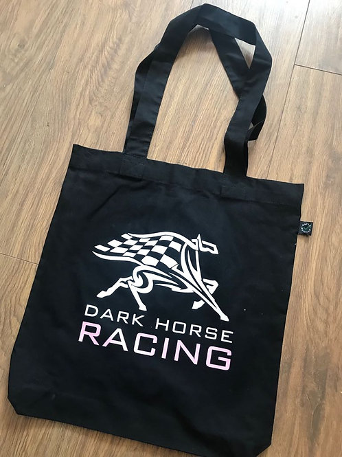 Dark Horse Racing Tote Bag
