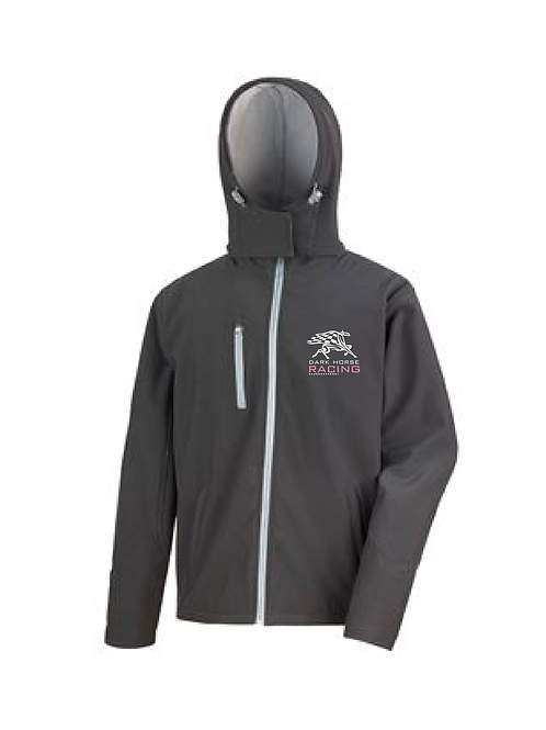 Soft Shell Dark Horse Racing Jacket