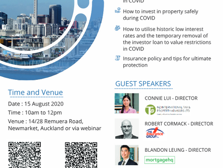 Boom or Bust? - Free property seminar on 15 August at 10am to 12pm