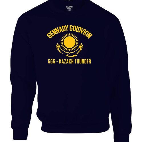 Mens GGG Kasakh Thunder Sweatshirt