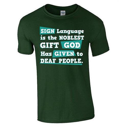 Sign Language Tee (Mens/Kids)