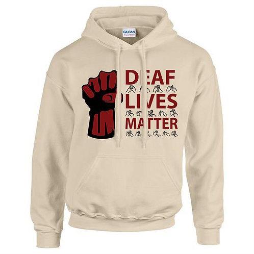 Deaf Lives Matter Hoodie (Unisex)