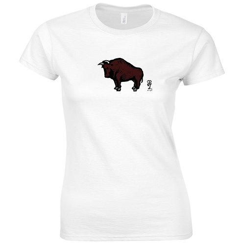Womens Bull Tee