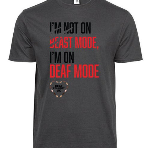 Deaf Ethnicity Beast Mode (Mens/Kids)