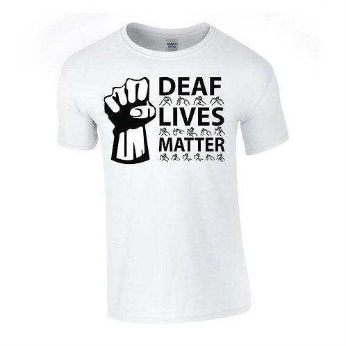 Deaf Lives Matter Tee (Mens/Kids)