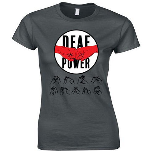 Deaf Power Tee (Womens/Kids)