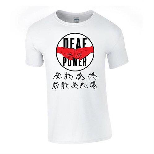 Deaf Power Tee (Mens/Kids)