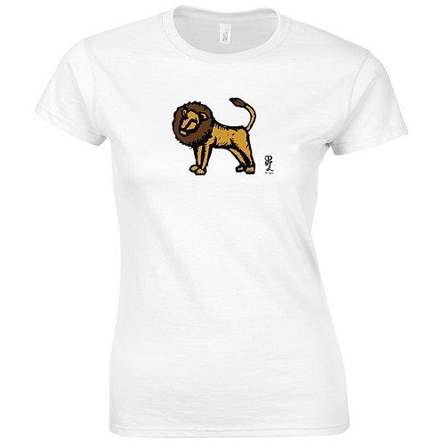 Womens Lion Tee