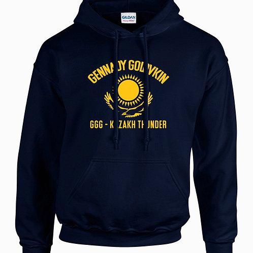 Mens GGG Kazakh Thunder Hoodie