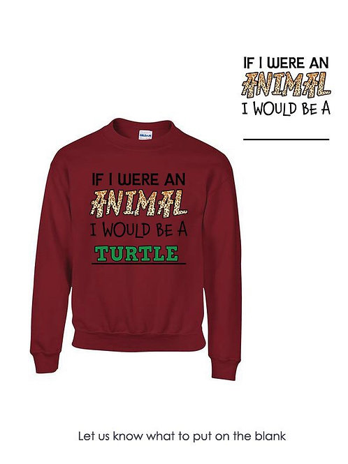 Kids If I Were An Animal Sweatshirt