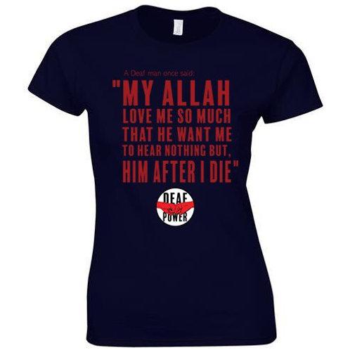 My Allah Loves Me Tee (Womens/Kids)