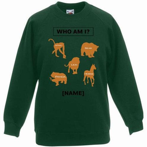 Kids Who Am I Sweatshirt