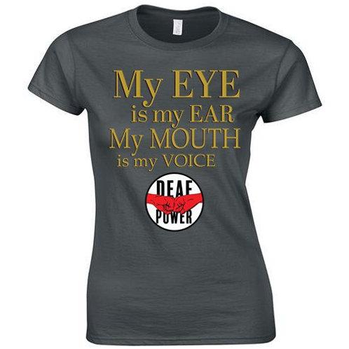 My Eye Is My Ear Tee (Womens/Kids)