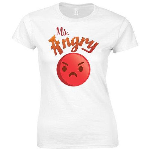 Womens Ms Angry Tee