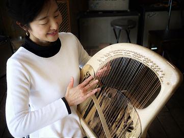 アフロディーテの竪琴 黒柿 プロフィール写真.JPG