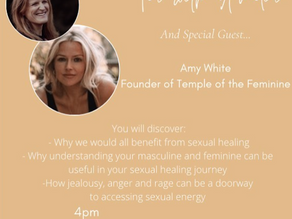 S1. E2 Sexual healing, masculine and feminine energy and using emotions with Amy White