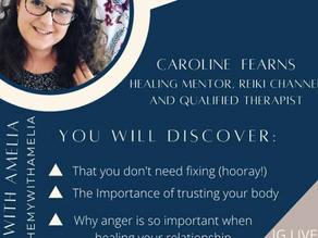 S1. E12 Trusting your body, intuitive eating and surrender with Caroline Fearns