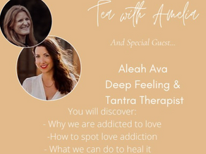 S1. E6 Love addiction, root cause of pain and vulnerability with Aleah Ava