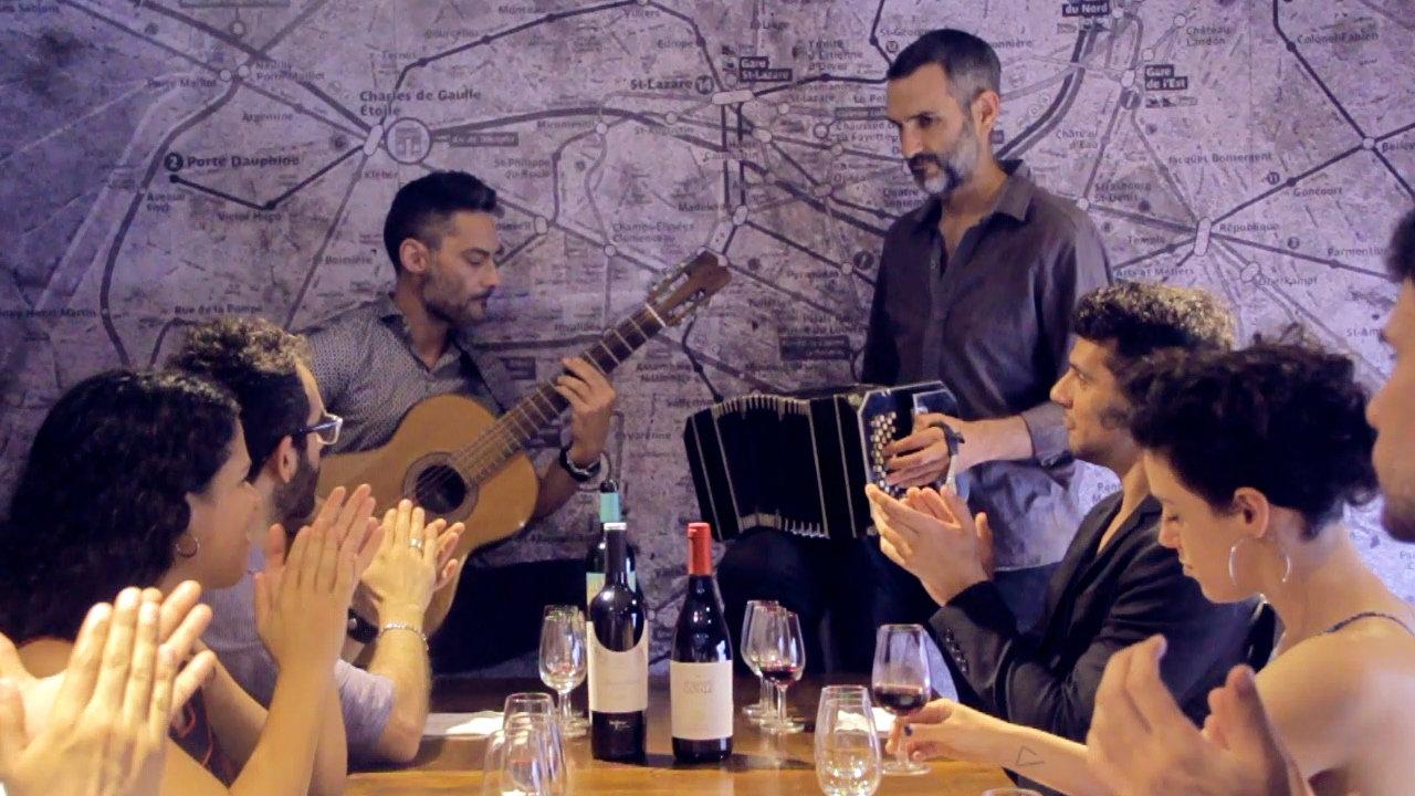 Wine Tasting & Tango Concert
