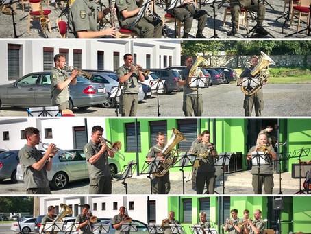 Ferienbetreuung: Workshop der Militärmusik