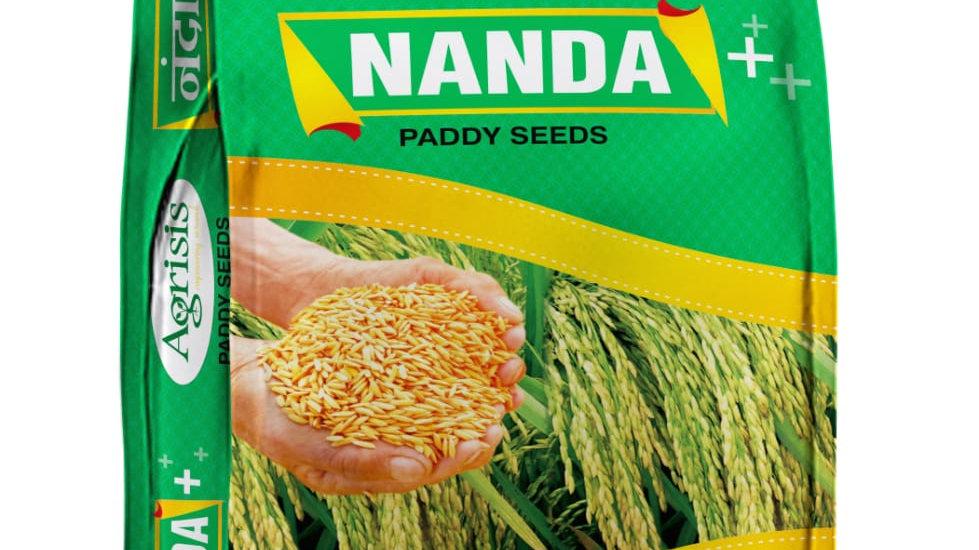Nanda seed వరి విత్తనాలు agrisis company వారి ఉత్పదన