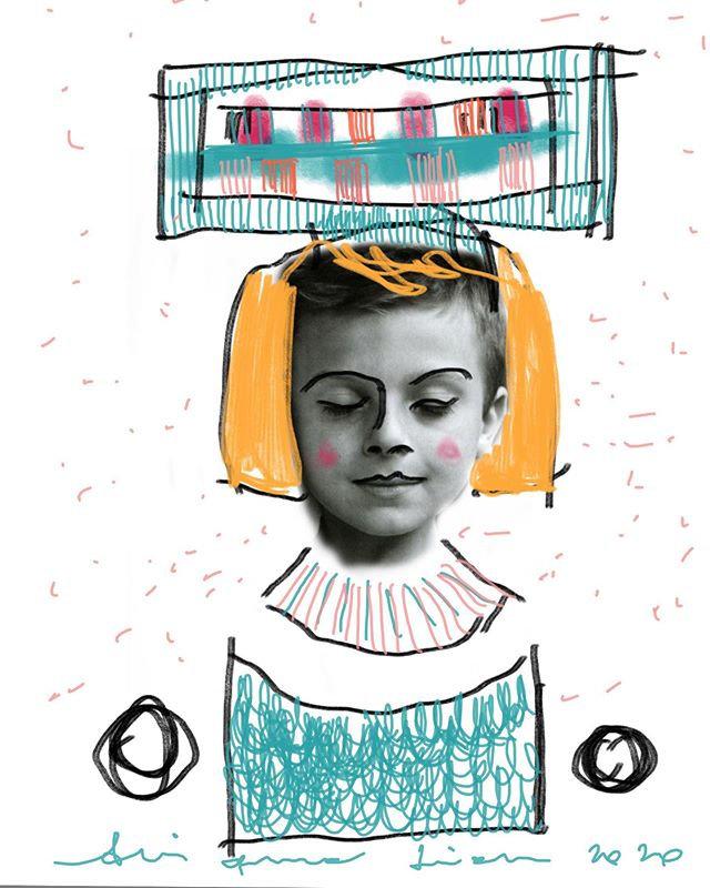 Letture disegno digitale di Arianna Lion