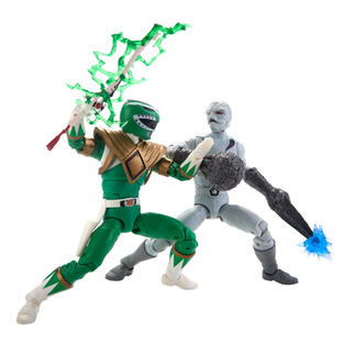 Lightning Collection Green Ranger putty Pack
