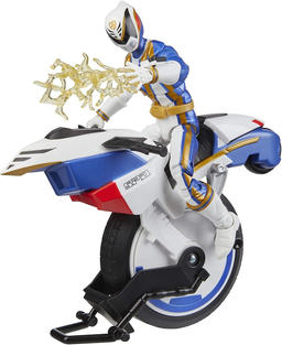 Lightning Collection S.P.D. Omega Ranger with Uniforce Cycle