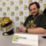 SDCC 2019 Power Ranger Panel Nick Laub