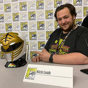 SDCC 2019 Power Ranger Panel Nick Laub