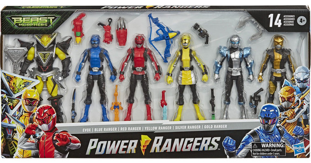 Beast Mophers Multi-Pack Core Figure Line