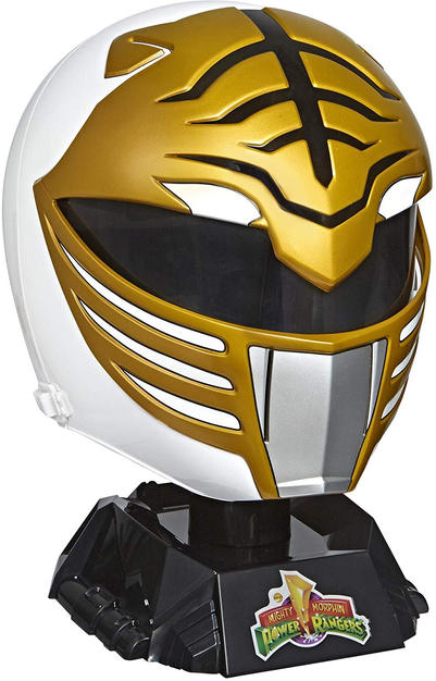 Lightning Collection MMPR White Ranger Helmet