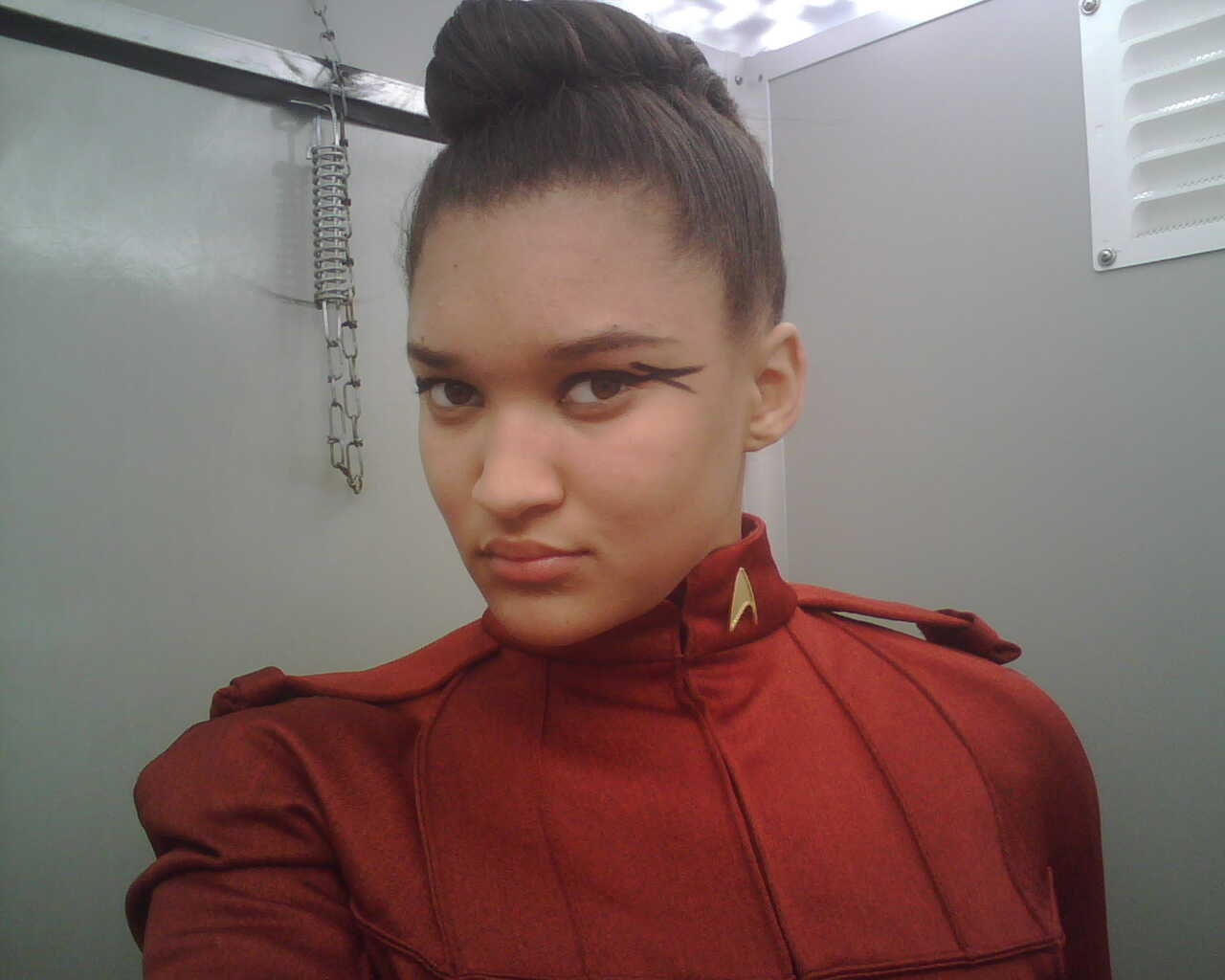 Etalvia as Star Trek Cadet