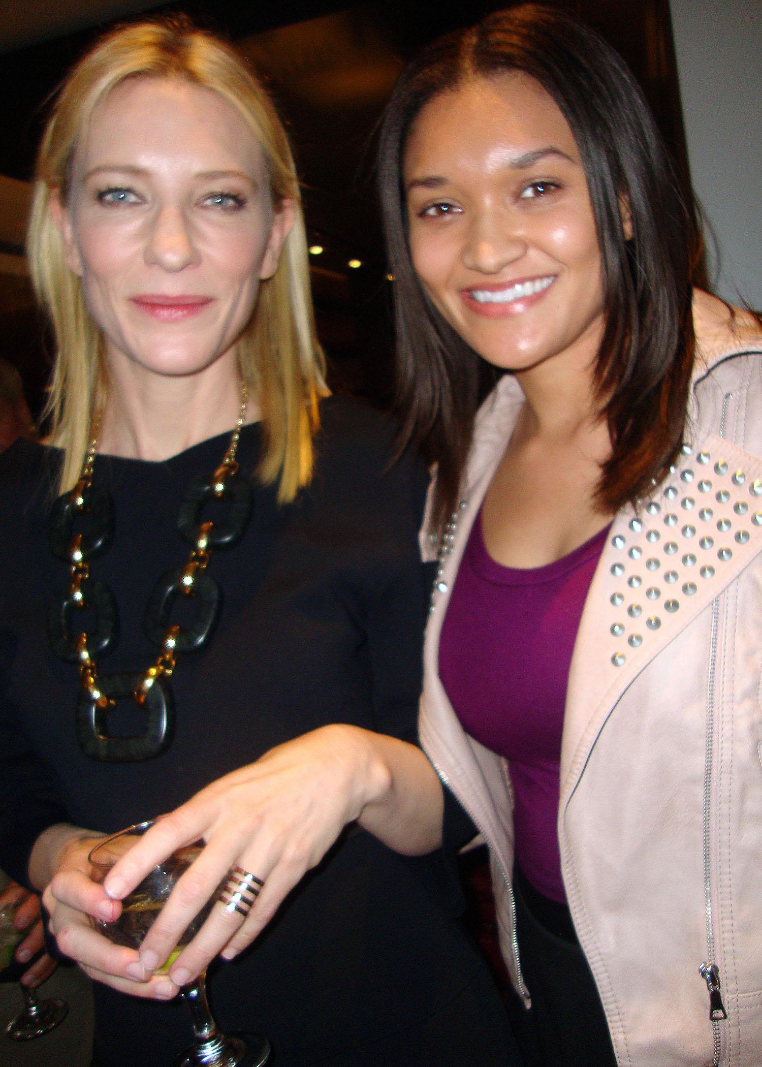 Etalvia Cashin and Cate Blanchett