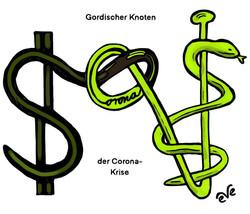Gordischer Knoten: zwischen Ökonomie und Medizin