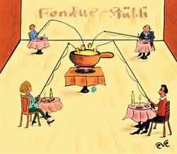 Fondue-Stübli